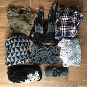 Neutral Resellers Mystery Box Clothing Bundle Lot